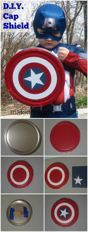 DIY Captain America Sheild