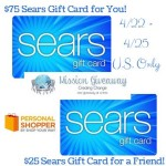 Sears Gift Cards Mission Giveaway