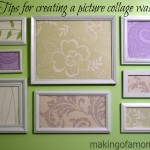 Tips for Creating a Picture Collage Wall