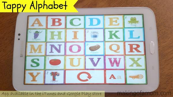 Tappy-Alphabet-use