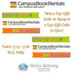 CampusBook Rentals Mission Giveaway