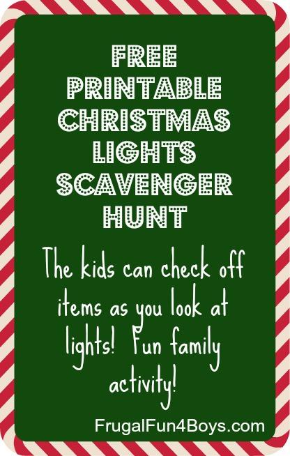 christmas-lights printable