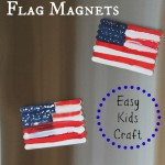Popsicle Stick Flag Magnets – Easy Kids Craft