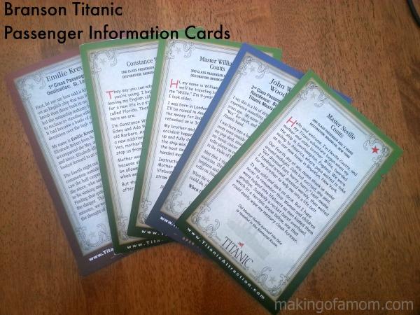 Titanic-Passenger-Cards