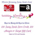 Sassy Steals Mission Giveaway