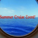 Summer Cruise Event – Win a Cruise for 4!