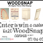 Woodsnap Canvas Giveaway