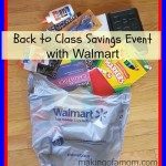 Back to Class Savings Event with Walmart.com