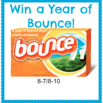 Enter to WIN a Year of Bounce