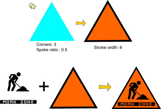 diy-dress-up-construction-worker-triangle-sign-shape-tutorial