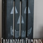 Chalkboard Pumpkin Craft