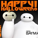 Happy Halloween from Baymax