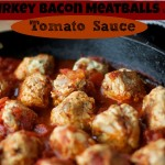 Turkey-Bacon Meatballs