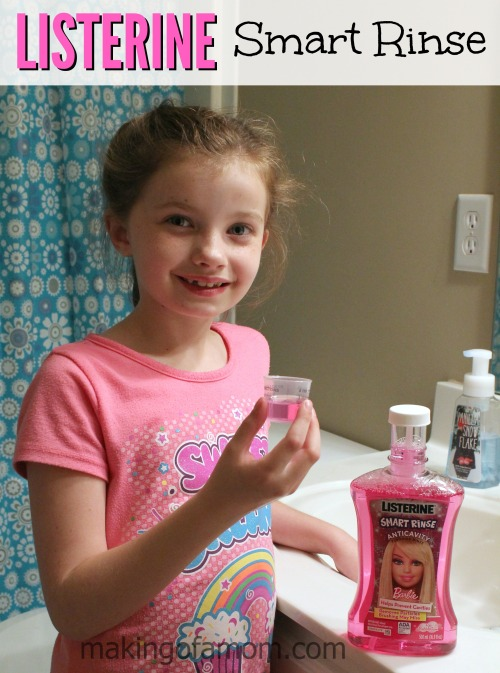 Listerine - The Oral Health Hero at Our House with mouth wash, floss and breath strips