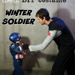 Simple DIY Winter Soldier Costume