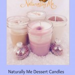 Naturally Me Dessert Candle Giveaway