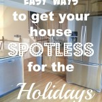 Easy Ways to Get your House Spotless for the Holidays