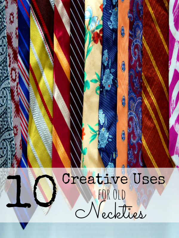 creative uses for old neckties