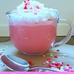 Frozen Raspberry White Hot Chocolate – 12 Days of Valentine Desserts