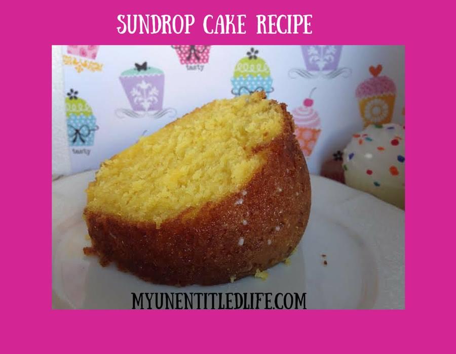 recipe: dale earnhardt sundrop cake [31]