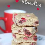 Valentine Blondies – 12 Days of Valentine Desserts