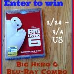 Big Hero 6 Blu-ray Giveaway
