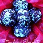 Strawberry Chocolate Truffles – 12 Days of Valentine Desserts