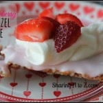 Strawberry Pretzel Pie – 12 Days of Valentine Desserts