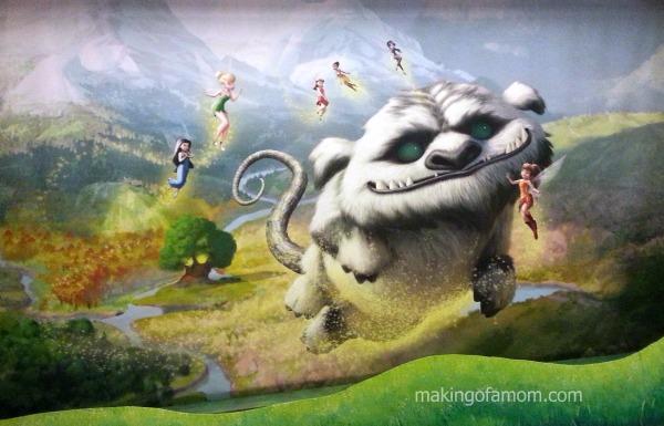 TinkerBell-Neverbeast-Mural