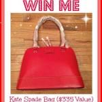 Valentine Kate Spade Bag Giveaway