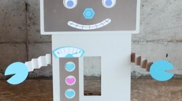 Robot Valentine Mailbox