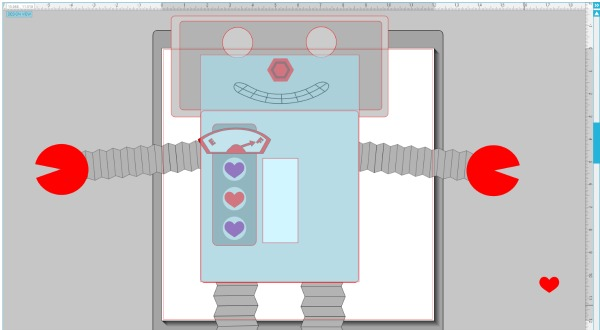 Robot Valentine Mailbox for Valentines Days