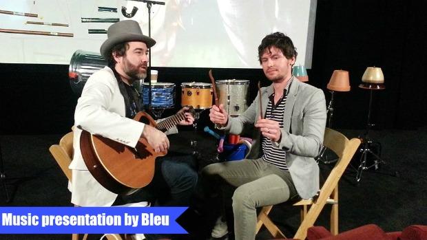 Bleu-Guitar