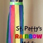 Rainbow Windsock – 12 Days of St. Patrick's Day