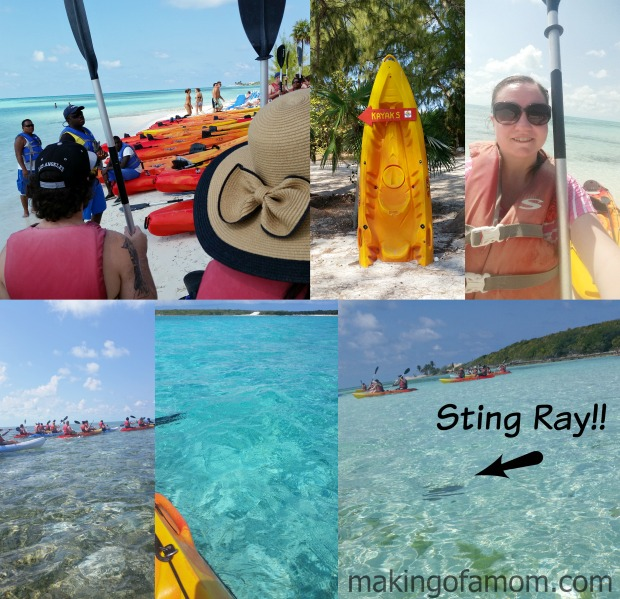 Coco-Cay-Kayaking