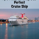 Tips for Choosing the Perfect Cruise Ship