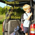 7 Kid Friendly Items to Pack for Long Car Rides