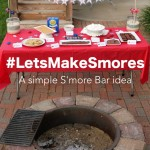 A Simple S'more Bar + Printables