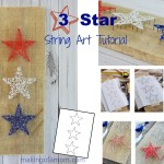 3 Star String Art Tutorial