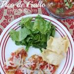 Grilled Chicken Bruschetta with Homemade Pico de Gallo