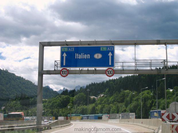 Italy-Autobahn