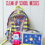 Wet Ones Clean Up School Messes