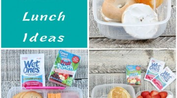 3 Fun School Lunch Ideas