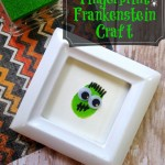 Fingerprint Frankenstein Halloween Craft