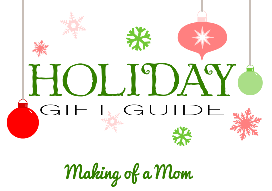 holiday gift guide MOM logo