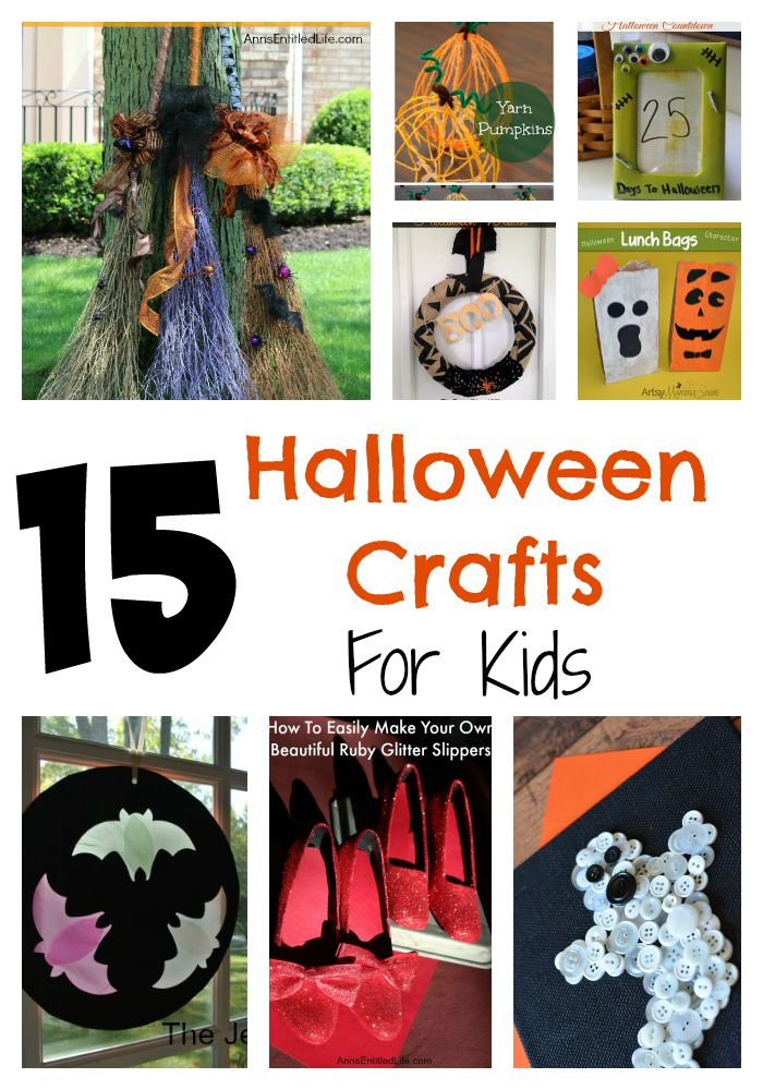 Fun Halloween Crafts for Kids - Stefanie - Makingofamom@gmail.com
