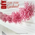 DIY Pom Pom Garland