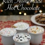 Rich Homemade Hot Chocolate