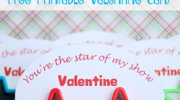 You're the Star of my Show Valentine