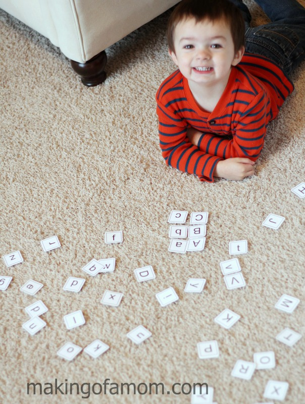 Playing-Letter-Cards